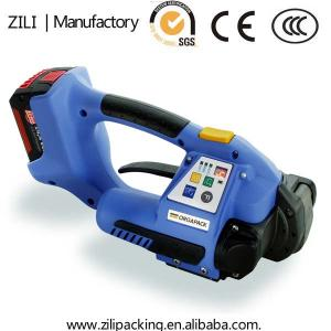 China Battery powered plastic strapping tools on sale