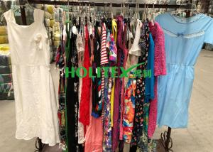 China First grade American style second hand clothes , used women's clothing , ladies cotton dress on sale