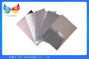 China 印刷のための68gsmぬれた強さの銀の真空によって金属で処理されるペーパー on sale