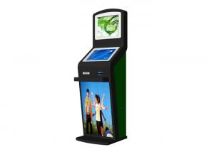 China School Card Recharge Dual Screen Kiosk Credit Card Cash Payment Thermal Printer on sale