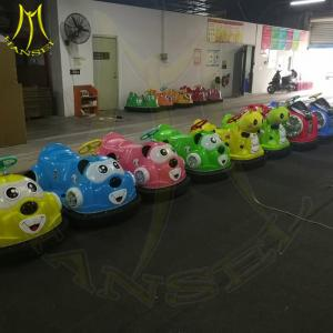 China Hansel amusement park rides kids ride on animal toy bumper car for sale on sale