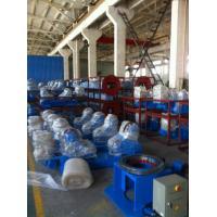 China Rotateur fait sur commande de soudure de tuyau de réservoir avec les roues en caoutchouc pour l'équipement chimique on sale