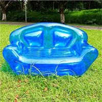 Summer Home Garden Inflatable Kids Toys Double Perosn Sofa Bed / Outdoor Indoor Beach Chairs