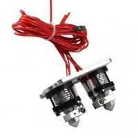 China Dual-head Hotend Extruder 0.35 / 0.4 / 0.5mm Nozzle 3D Printer Diy Kit on sale
