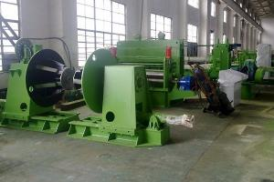 China Hydraulic Steel Coil Slitting Line With Electric Control System , Galvanized on sale
