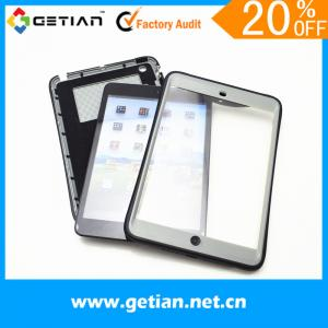 China Grey Ipad Mini Protective Case Waterproof With Stand on sale