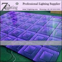 China Magic LED Floor Tile 50*50 Cm 3D Effect LED Infinite Dance Floor on sale