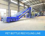 PET bottle washing recycling line waste plastic film recycling machine