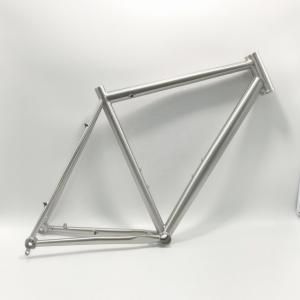 China TIG Welding Titanium Road Bike Frame 700c Titanium Bicycle Frame High Precision on sale