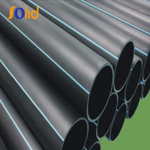 China 100mm 150mm HDPE Plastic Corrugated Pipe for Water Supply or Drainage on sale