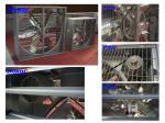 swung drop hammer style industrial exhaust fan (Belt driven)