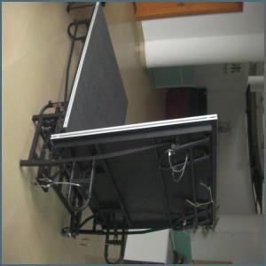 China Rk Portable Movable Folding Aluminum Stage (RKIIAFS1624) on sale