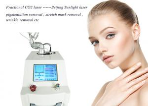 China Vaginal Tightening CO2 Fractional Laser Machine 10600nm Wavelength With RF Metal Tube on sale