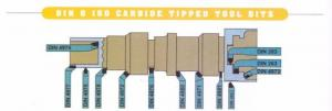 China Wholesale tungsten carbide tipped brazed cutting tool bits on sale