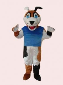 Quality Kids full - body cartoon dog mascot fancy dress costumes for sale