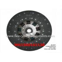 Disco de embrague de espec. de los recambios del camión de la maquinaria pesada WG9114260420 8.91kg