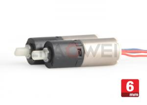 China 1200rpm DC Gear Motor 3 Volt 26/1 Reduction Ratio For Mobile Phone Camera on sale
