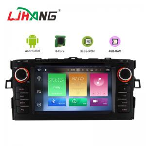 China Android 8.0 Toyota Car DVD Player With 7 Inch Touch Screen MP3 MP4 Radio on sale