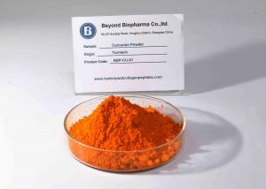 China USP Grade Crystalline Curcumin Powder For Food Additives 95% Purity on sale
