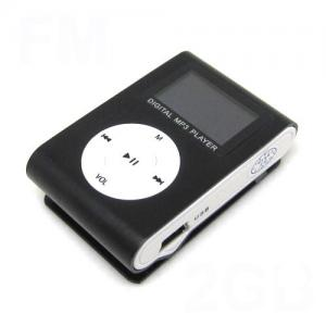 China Multi-language Clip Mp3 Player With Colorful OLED Display Screen, Microphone on sale