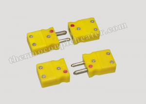China thermocouple Accessories Male / Female Thermocouple Plugs And Jacks on sale