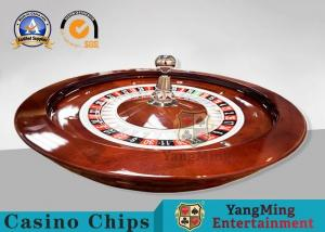China 32 Inch International American Roulette Wheel Board With Resin Ball / Play Roulette For Fun on sale