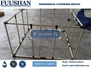 China Fuushan High Quality Collapsible Frame Outdoor Fish Tank Aquarium on sale