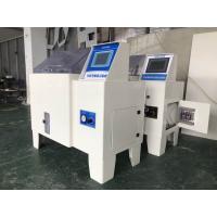 China High Performance Salt Spray Test Chamber , Programmable PVC Salt Fog Test Equipment on sale