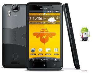 China 4.3 inch Multi-touch Screen Android Powered Smartphone With WCDMA 3G, Dual SIM Card on sale