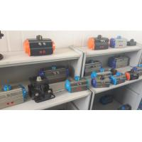 China rack and pinion pneumatic actuators for swagelok ball valves pneumatic actuator components on sale