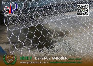 China 8x10cm Wire gabion mesh baskets with lid | 2x1x1m | China Gabion Exporter on sale