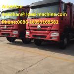 EuroII 6 X 4 371HP Heavy Duty Dump Truck , Muck Tipper Dump Truck For Carrying Muck Easy Operation