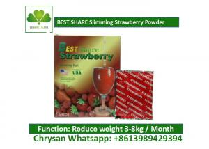 Quality Strawberry Powder Weight Loss Fruit Juice BESTSHARE For Slimming SGS Approved for sale