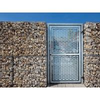 China Good Through Vision Expanded Metal Gate Anti - Corrosion Waterproof Easy Installation on sale
