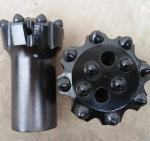 Tungsten Carbide Button Drill Bit R32 Dia 64mm Flat Face Or Drop Center
