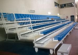 China Economical Telescopic Arena Stage Seating / Wall Attached Temporary Stadium Seating on sale