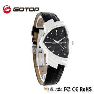 China China Watches Wholesale Cheap Leather Triangle Watch on sale