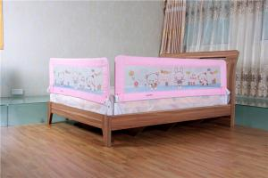 Safety Folded Childrens Bed Guards Rail Assembled For Twin Bed For