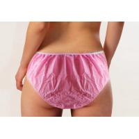 SPA Used Disposable Beauty Products Non Woven Underwear Shorts For Woman
