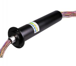 China Multi-channel slip ring, Capsule Slip Ring with 125 wires used for rotary turntable on sale