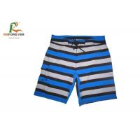 Beach Surfing Printed Board Shorts Mens Stripe Design Cool Dye Sublimation