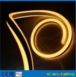 bande flexible au néon menée jaune de émission latérale du joli double 110V pour extérieur