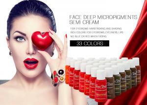 China 12ML Semi Cream Micropigments Microshading Tattoo Ink Non-toxic on sale
