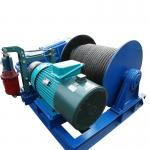 Steel Workshop 1000m Rope Crane Trailer Electric Winch