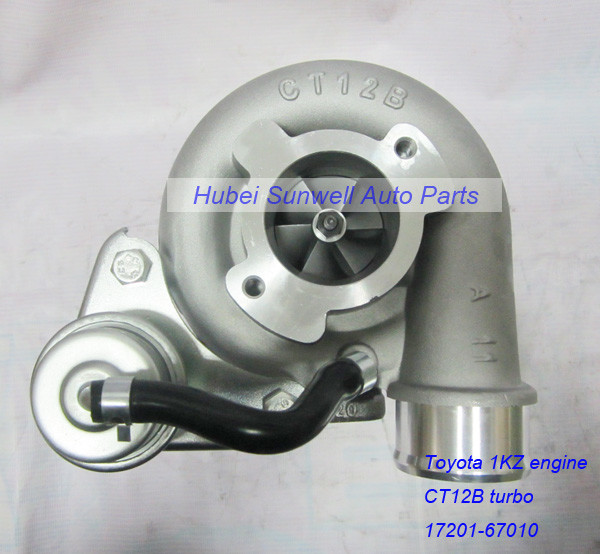 Toyota 1KZ engine turbo 17201-67010, CT12B turbo for Toyota Land