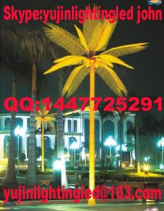 China LED palm tree light #B-050 on sale