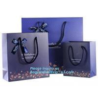 Paper carrier bags for fashion shopping paper carton bag High quality luxury design bag,Custom design logo lipstick kraf