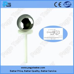China IEC61032 and IEC60598 Test Probe A for IP1X Testing: Φ50 sphere with handle on sale