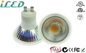 China 5w Glass Housing Energy Saving Gu10 Led Light Bulbs 230v For Bathrooms on sale