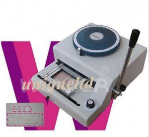 China Máquina de la máquina de estampación de las tarjetas de la identificación del PVC + impresión 2in1 EI72 de la mella on sale